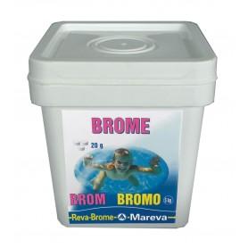 Brome en pastilles 20g - Reva-Brome 5kg