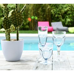 Set de 6 verres HAPPY transparents
