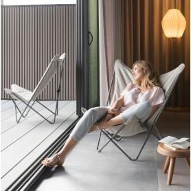 Sphinx fauteuil Lafuma coloris Latte (beige)