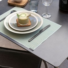 Set de table 43,5 x 32 cm jade