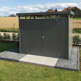 Abri de jardin HighLine H3 275x235 avec double porte