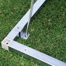 Cadre de sol en aluminium pour H5