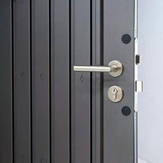 Porte supplémentaire avec poignée en inox