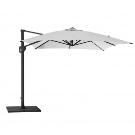 Cane-Line parasol Hyde Luxe 3x3 Dusty white