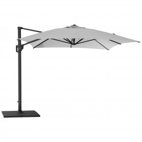 Cane-Line parasol Hyde Luxe 3x3 Light grey