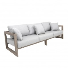 Canapé 3 places SKAAL en teck Duratek