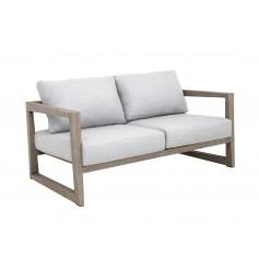Canapé 2 places small SKAAL en teck Duratek