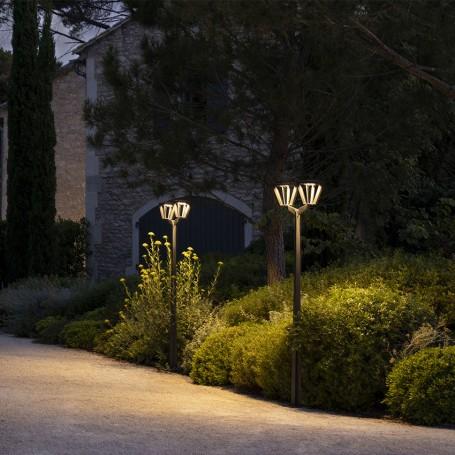 Lampadaire double METRO à fixer 220 cm TINK552