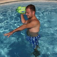 Ballon de football américain néoprène fluo Kerlis