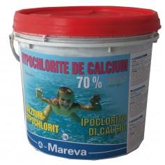 Hypochlorite de calcium 5kg - chlore choc granulés