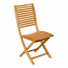 Chaise pliante SILLAGE en teck