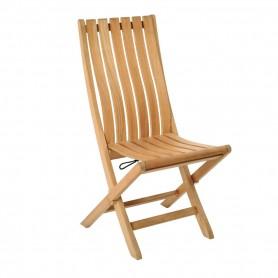 Chaise pliante PERGOLATEK en teck